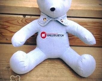 One sleeper Memory Bear <3 Keepsake Bear, Memorial/ personalized  Gift