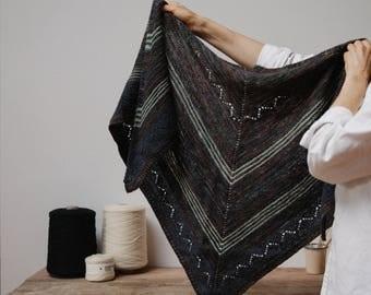 Biches & Bûches no. 36, knitting kit, shawl