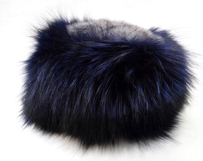 Fashion Hat, Fox and Mink Fur Hat F528