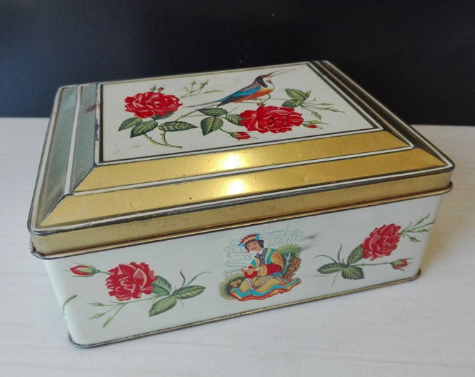 Vintage niemeyer tin