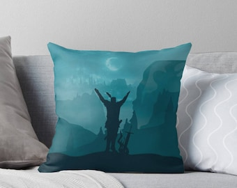 NEW FIlled Souls Cushions: Praise the Sun & Prepare for Greatness with Dark Souls and Bloodboorne inspired throw pillows