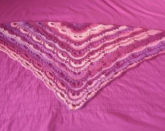 Handmade virus shawl