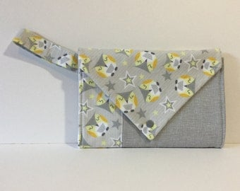 Diaper Purse, Diaper Clutch, Travel diaper bag, Diaper bag, Gift for New  Mothers, Nursery Bag