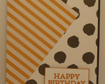 Bright and Bold Birthday Card 1545