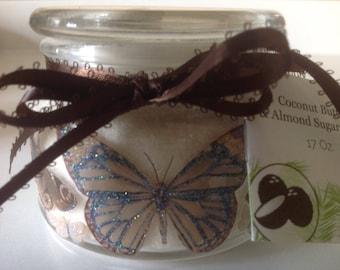Organic Coconut & Vanilla Sugar Scrub