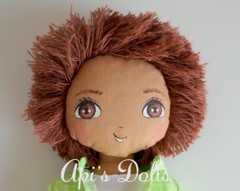 SALE Api's Dolls, OOAK doll, Boy Doll, Doll for boys, Handmade doll, Cloth doll, Art doll, Baby doll, First Doll, Classic doll, Da