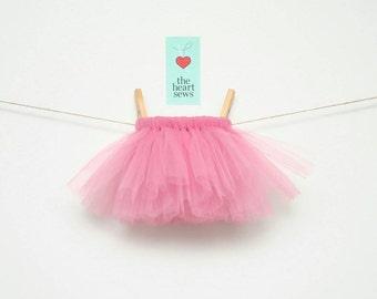 Pink Tutu, Dusty Rose Tutu, Baby Girl Tutu, Newborn Tutu, Pink, Dusty Rose, Baby Girl, Newborn, Girl, Tutu
