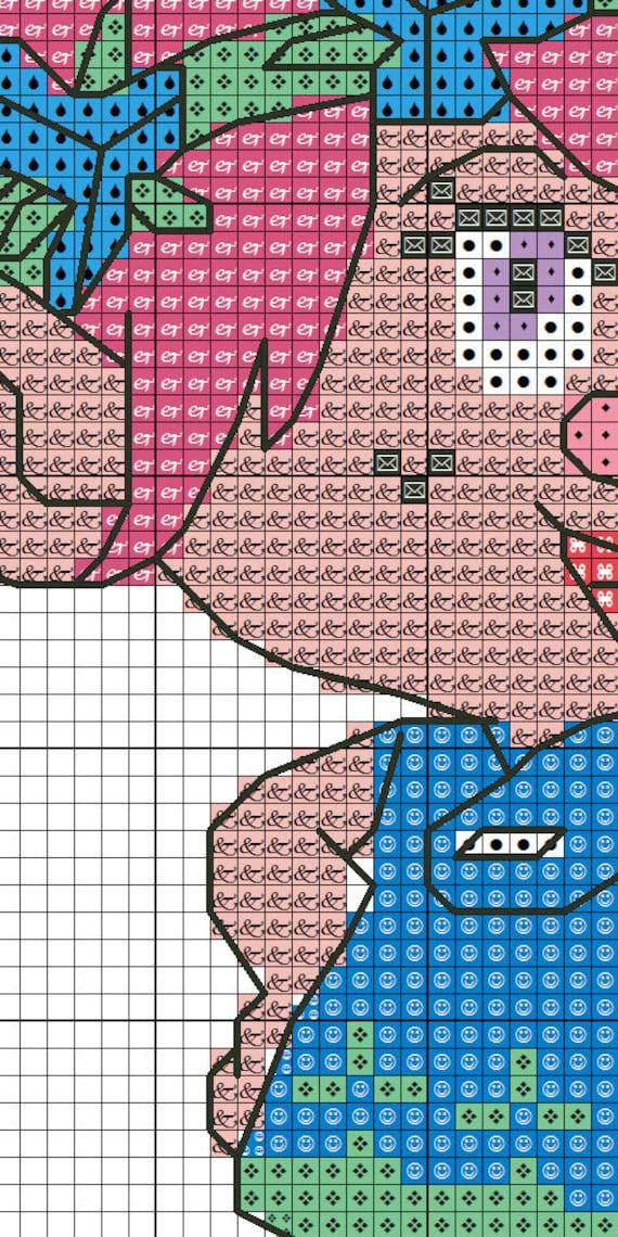 Princess Poppy Trolls Inc Cross Stitch Pattern Bogo Pdf