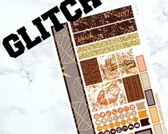 GLITCH - March Personal Planner Kit