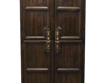 HENREDON Alvarado Collection Spanish Revival 40″ Clothing Armoire 5-6202