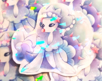 Pokemon Primarina HOLOGRAPHIC Sticker