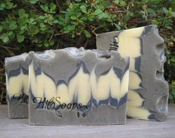 Dead Sea Mud Soap, Dead Sea Soap, Made in Israel, Vegan Soap, Israel soap, All Natural Soap, Detox Soap, essential oils soap, סבון ים המלח