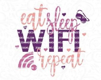 wifi svg, eat sleep svg, funny svg files, mug svg, sleep svg, heart svg, svg files sayings, svg files for girls, svg sayings