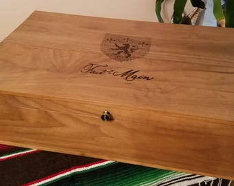 Storage Box from Wood Wine Crate