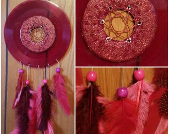 Red Vinyl dreamcatcher