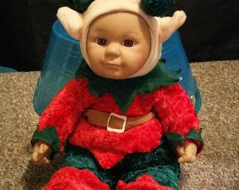Adorable Haunted Doll Girl Elf