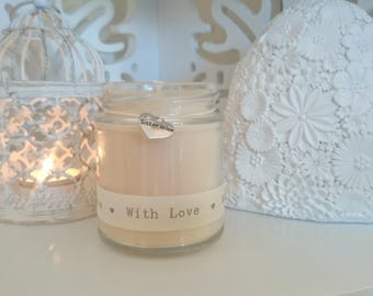 Sister in law (with love) Scented Soy Candle Gift