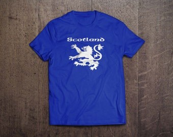 Scotland Lion T Shirt sizes S-XXL new