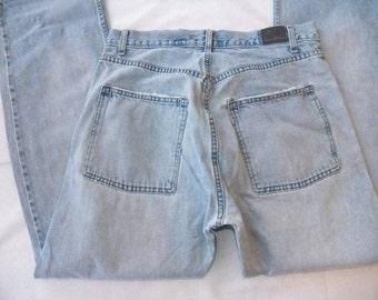 VINTAGE Levi's Men's Jeans 33x32 SilverTab Light Wash Straight Leg 44560-0823