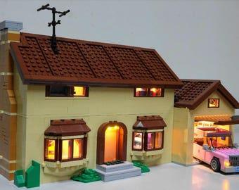 LED Lighting kit for LEGO 71006 The Simpsons™ House