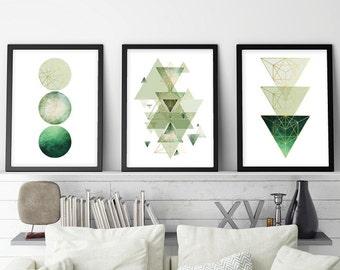 Set of 3 prints, Print Set, Downloadable Prints, Minimalist Poster, Scandinavian Print, Geometric Print, Scandinavian Poster, Scandinave Art