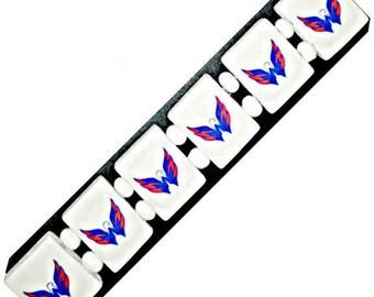 Washington Capitals bracelet. Washington Capitals wristband.