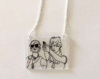Thelma and Louise necklace