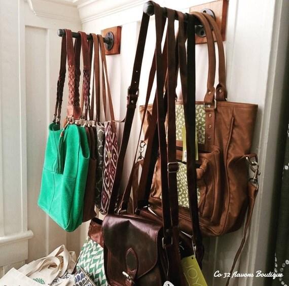 Industrial Pipe Clothing Hook ⋆ Industrial Hanger ⋆ Industrial Hook ⋆ Purse  Hook ⋆ Closet Hook ⋆ Retail Display ⋆ Pipe Hook⋆ Garment Hook