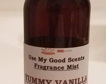 Yummy Vanilla Fragrance Mist - Concentrated Body Spray - 2 fl. oz
