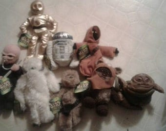 8 Star wars Buddies  collectibles characters