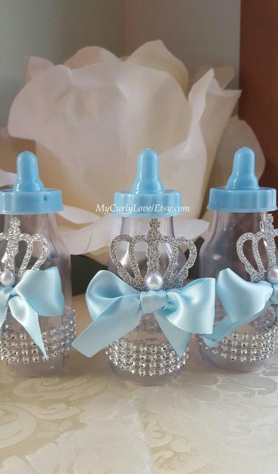 12 Prince Baby Bottle Favors/Baby Shower Bottles/Prince Baby Shower/Boy  Baby Shower Favors/Prince Baby Shower Favors/Baby Shower Favors