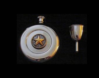 Texas Star Flask – Color