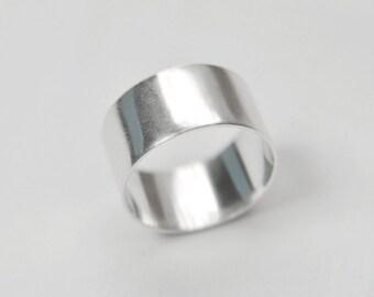 Chunky Handmade Sterling Silver Ring