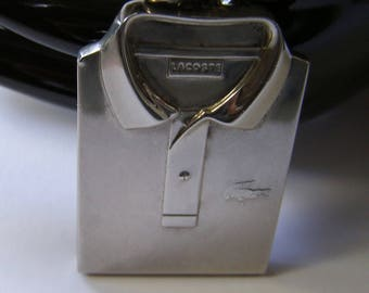 LACOSTE / Lacoste perfume pendant / Medallion 80 Lacoste s / Lacoste Lacoste/Medallion Medal