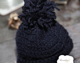 Handmade Baby Bobble Hat