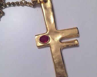 Kenneth Lane, 90s huge necklace