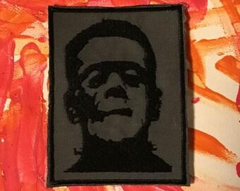 Frankenstein patch, Lon Chaney, horror patch, horror gift, Boris Karloff, gift under 10, universal monster, classic horror, dracula, wolfman