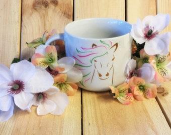 Extra Large Horse Coffee Mug