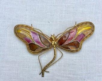 Enamel Dragonfly Pin