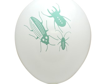 Sea Spray Green Bugs and Beetles Party Balloons (Pkg of 3) - PB1148