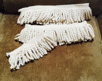 "Ivory Cotton Fringe 3"" Length"