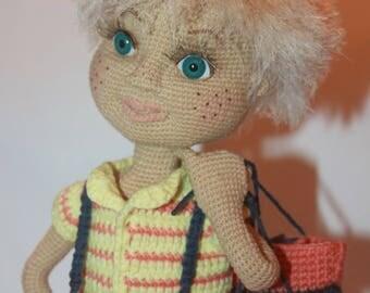 Crochet boy Yasha