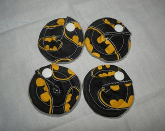 Gtube GJ PEG Button Gastrointesinal Medical Pads Cover set of 5 - Batman - Made Ready to Ship