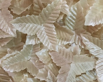 Fabric Leaves-100pcs Fabric Leaves