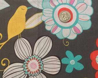 Michael Miller tweet birdie tweet cotton fabric