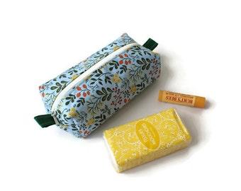 Small Accessory Case / Accessory Pouch / Small Items Case / Zipper Pouch / Small Gadget Pouch