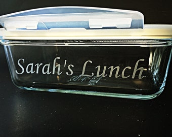 Personalized Lunch Container