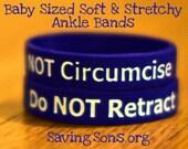 Do NOT Retract / Do NOT Circumcise Baby Bands