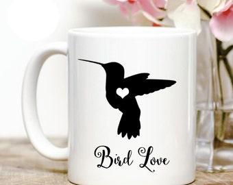 Hummingbird Love Coffee Mug