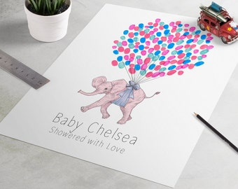 baby shower guest book gift elephant baby shower guestbook baby show gift baby